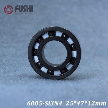 6005 Full Ceramic Bearing ( 1 PC ) 25*47*12 mm Si3N4 Material 6005CE