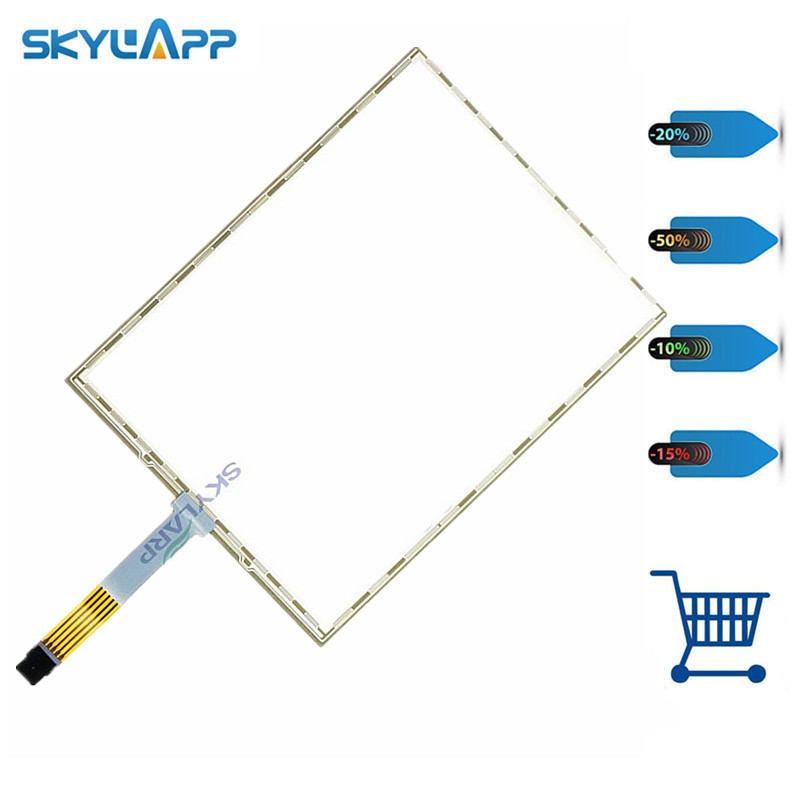 Skylarpu NEW 10.4 Inch 5 Wire Resistive Touch Screen Panel For A104SN03 Win 7 XP 229*174mm Touch Panel Glass Free Shipping