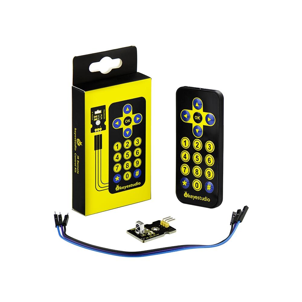 Free shipping! Keyestudio IR Receiver Module Kit(receiver module+remote controller+3Pin F-M dupont line) For ArduinoFree shipping! Keyestudio IR Receiver Module Kit(receiver module+remote controller+3Pin F-M dupont line) For Arduino