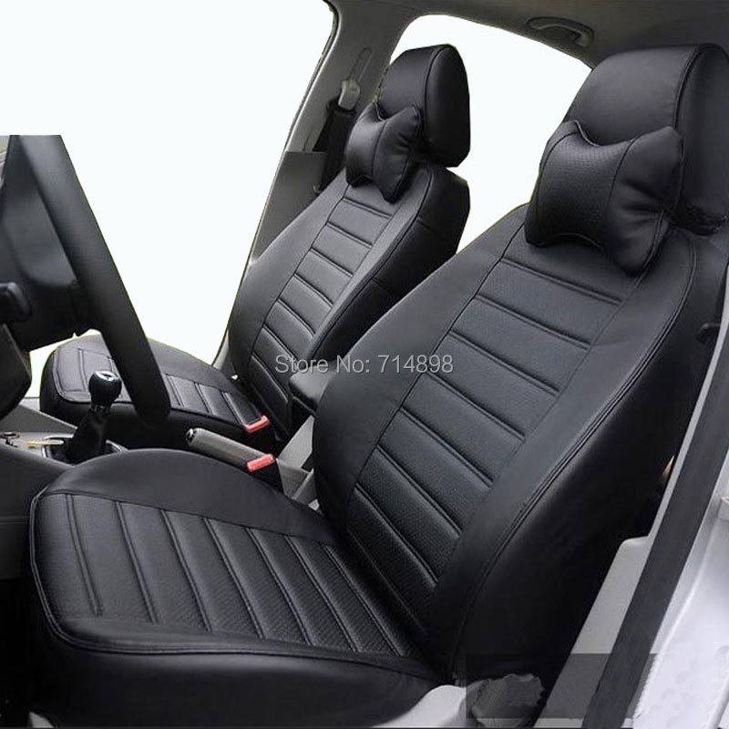 Aliexpress Buy Leather Car Seat Cover Black Seat