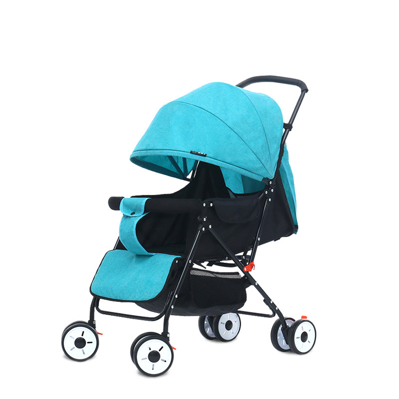 Portable Lightweight Travel Baby Stroller Multi-angle Degrees Prams Folding Baby Cariage Infant Trolley Wagon