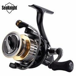 SeaKnight TREANT II 5.0: 1 6.2: 1 الصيد بكرة 1000 H-6000 H الغزل بكرة 15 كجم/33LBs الكربون الألياف السحب الطاقة الكارب أدوات صيد