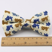 Men Bow Tie Plaid Style Cotton Duck Fish Rabbit Cat Bowtie Casual Gravata Borboleta Butterfly Tartan Strip Colorful Ties