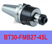 Free Shipping BT30 FMB27  45L Polit 27mm Combi Shell Mill Holder for CNC Milling Machine 300R/400R/EMR/TRS