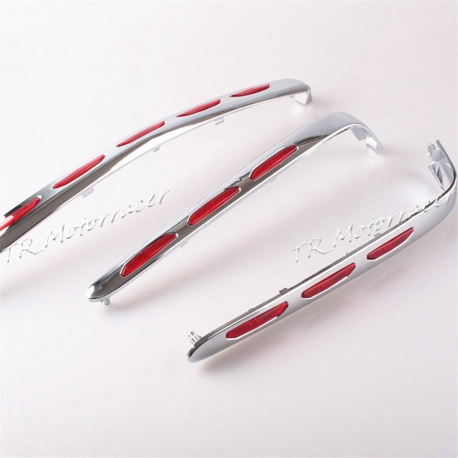 Багажник обтекатель молдинги для Хонда goldwing GL1800 2001-2011 08 09 10 мотоцикл хром аксессуары стильные