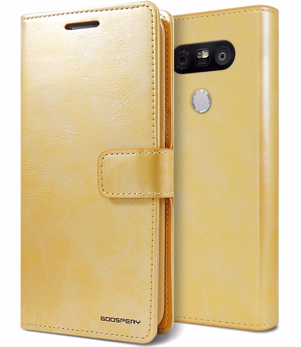 Original Mercury Goospery Blue Moon Diary Pu Leather Flip Card Iphone 8 Fancy Case Yellow Hotpink S L1600
