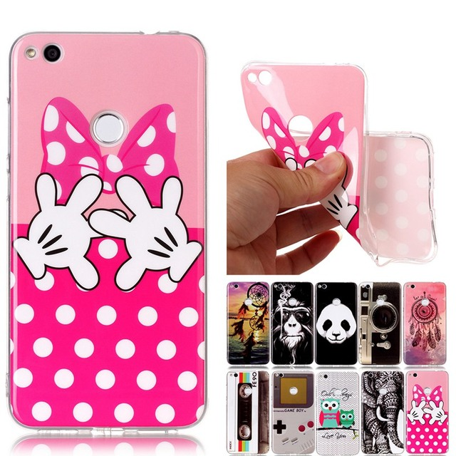 coque huawei p8 lite 2017 animaux silicone