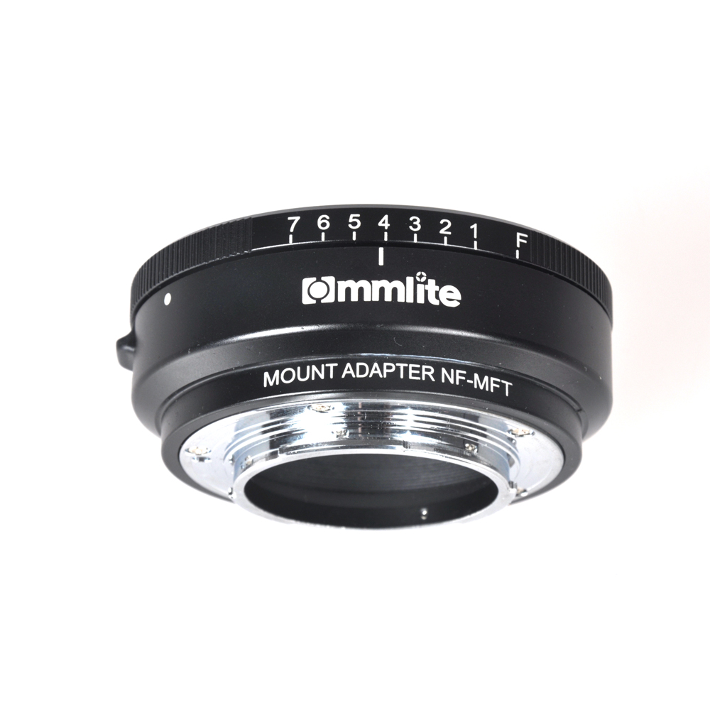 цена на Commlite CM-NF-MFT Lens Adapter for Nikon G/DX/F/AI/S/D Lens to M4/3 Mount Camera for Panasonic GH2/GH3/GH4 Olympus M4/3 OM-D
