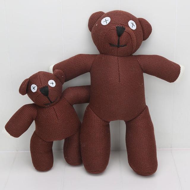 25cm 35cm 50cm mr bean teddy bear soft stuffed plush. Black Bedroom Furniture Sets. Home Design Ideas
