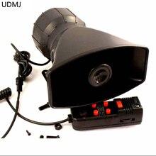 Free Shipping 100W Car Electronic Warning Siren Alarm  Police Firemen Ambulance Loudspeaker with MIC
