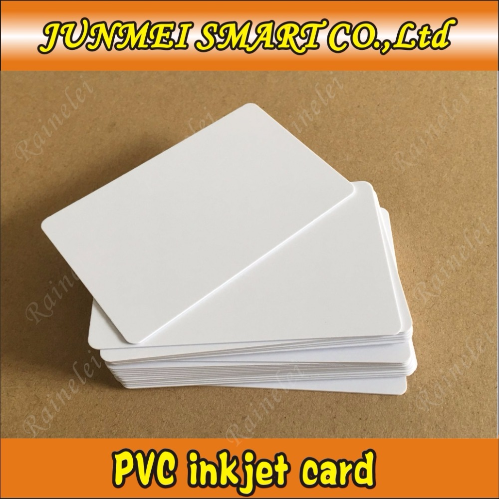 5000pcs Plastic Inkjet Pvc Cards For Epson Canon Inkjet Printers R290 R330 T50 L800 R230r300 R310 R390 Rx680 T50 T60 A50 Driving A Roaring Trade Access Control Cards