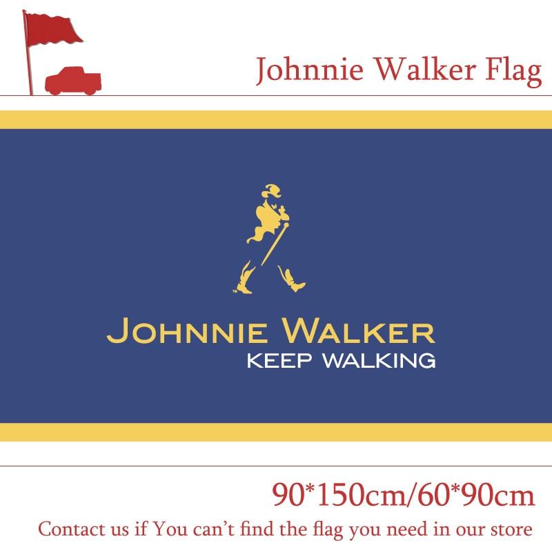 Johnnie Walker Flag 3x5 ft Indoor//Outdoor Banner