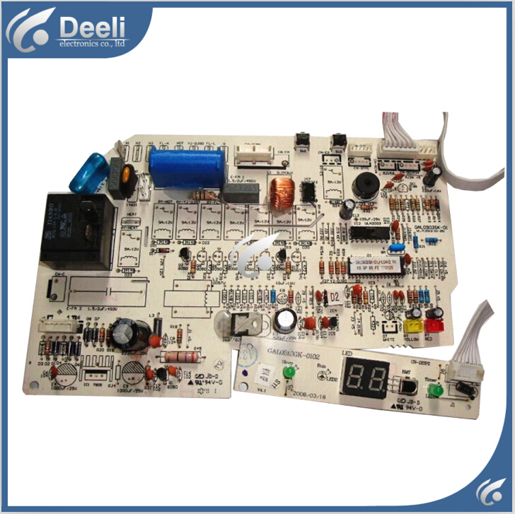 95% new good working for air conditioning motherboard computer board GAL0902GK circuit board 2pcs/set 95% new for haier refrigerator computer board circuit board bcd 198k 0064000619 driver board good working