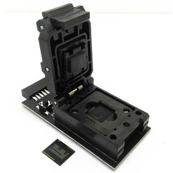 eMMC 153 169  test Socket to 20pin universal port for nand flash testing for BGA 162 and BGA 186 reader size for data recovery