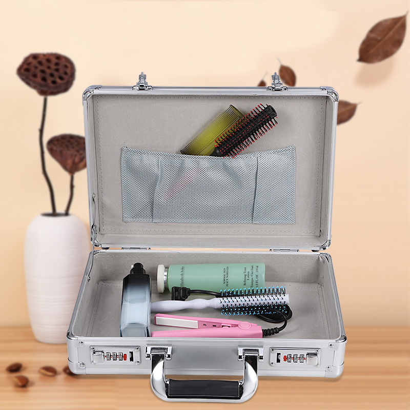 Aluminum waterproof Tool case suitcase toolbox File box Impact resistant safety case equipment camera case with foam liningAluminum waterproof Tool case suitcase toolbox File box Impact resistant safety case equipment camera case with foam lining