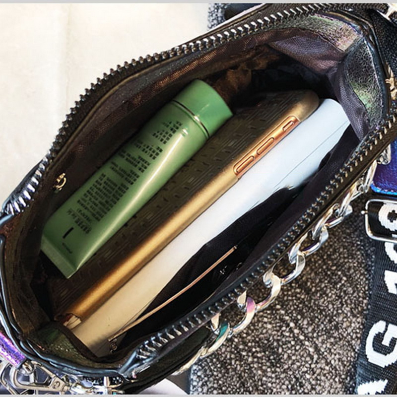 Adisputent PU Messenger Bags Popular Female Handbag For Lady Design Exquisite Crossbody Holiday Women Letter Shoulder Bag 3