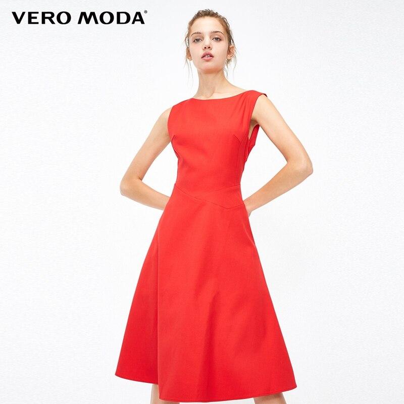 Vero moda cinched cintura a linha festa vestido minimalista | 31837a519