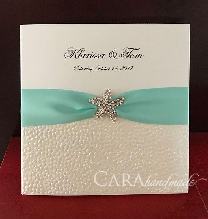 Ca0686 비치 결혼식 초대장 디자인-에서카드 & 초대장부터 홈 & 가든 의  그룹 1