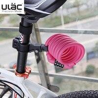 TAIWAN ULAC A600 fietsslot kabel fiets voor staal kabel sluizen accesorios bicicleta fietsen Blauw rood wit zwart
