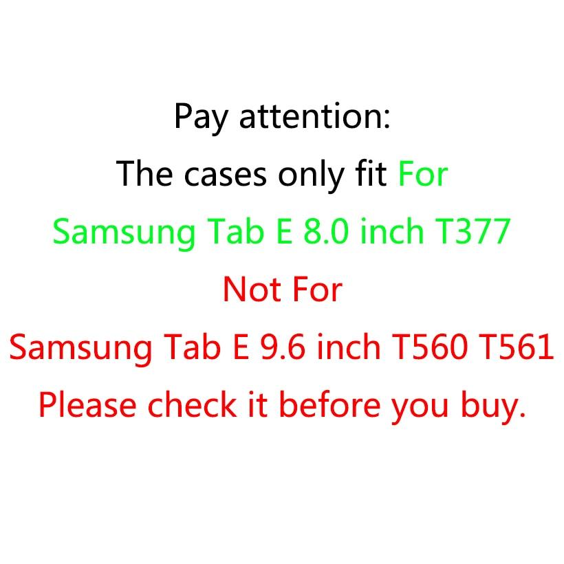Para Samsung Galaxy Tab E 8.0 T377 SM-T377V Funda para niños Funda - Accesorios para tablets - foto 2
