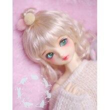 Cataleya BJD кукла с парик 1/3 1/4 1/6 1/8 гигантский ребенок искусственный мохер бледно-золотой вьющиеся волосы