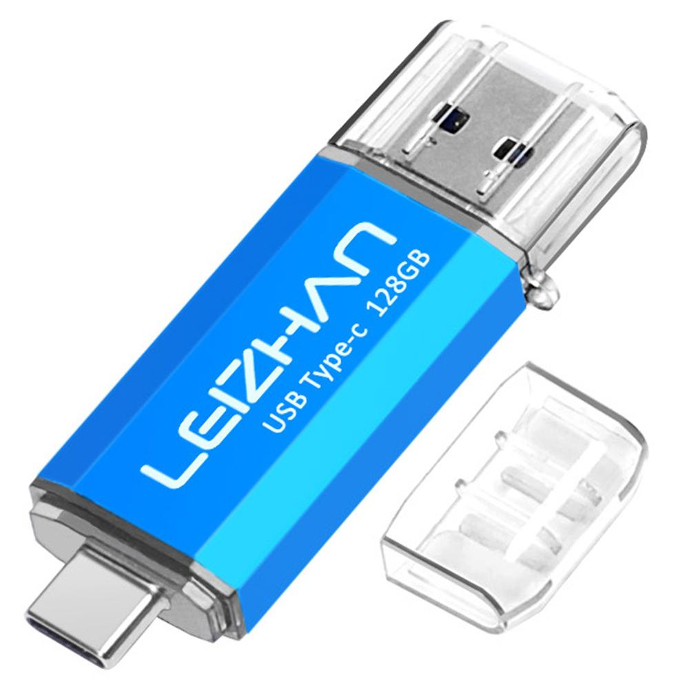 Type-c USB C Flash Drive 3.0 Phone Stick For Samsung Galaxy S10 S9 S8 Huawei P30 P20 Pen Drive 256GB 128GB 64GB 32GB 16GB USB