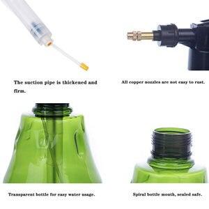 Image 5 - البستنة ضغط Watering رذاذ زجاجة متعددة الوظائف حديقة الري النبات مسقاة لوازم تنظيف الأسرة