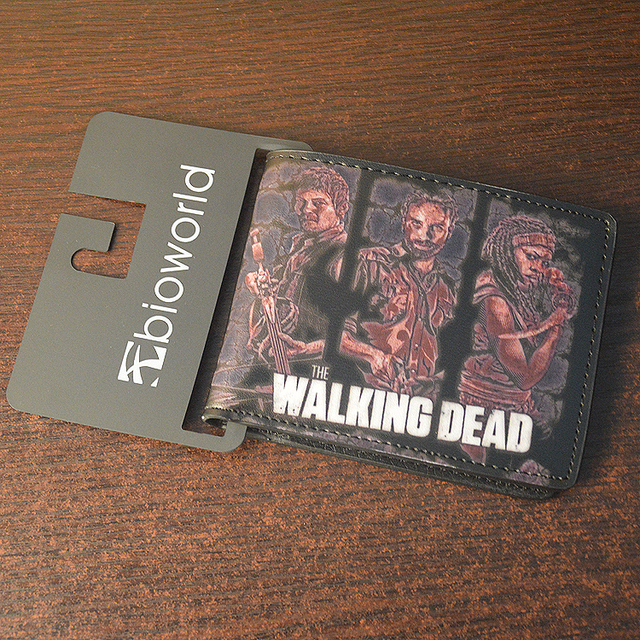 The Walking Dead Comic Style Wallet Collection