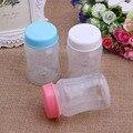 Armazenamento Coleção De Garrafas De 180 ML de Leite Materno do bebê Pescoço Largo De Armazenamento Garrafa BPA Livre