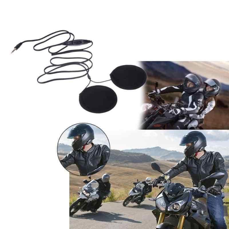 3.5 Mm Mobil Styling Motor Headset Speaker Earphone Headphone Volume Kontrol Stereo Motor Headset untuk MP3 Gps Ponsel Pintar