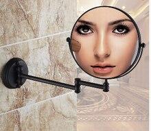 ORB закончил Косметика складывания, зеркало в ванной настенный зеркало складной косметическое зеркало двусторонний 3x