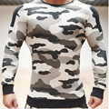 Dr New muscle fitness brother man sportswear camouflage fleece in the fall and winter of cultivate one's morality