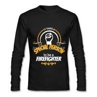 Men in t áo sơ mi phong cách thời trang giá rẻ đặc biệt lính cứu hỏa clothing thời trang thương hiệu dài tay áo t-shirt xs, s, m, l, xl, 2xl
