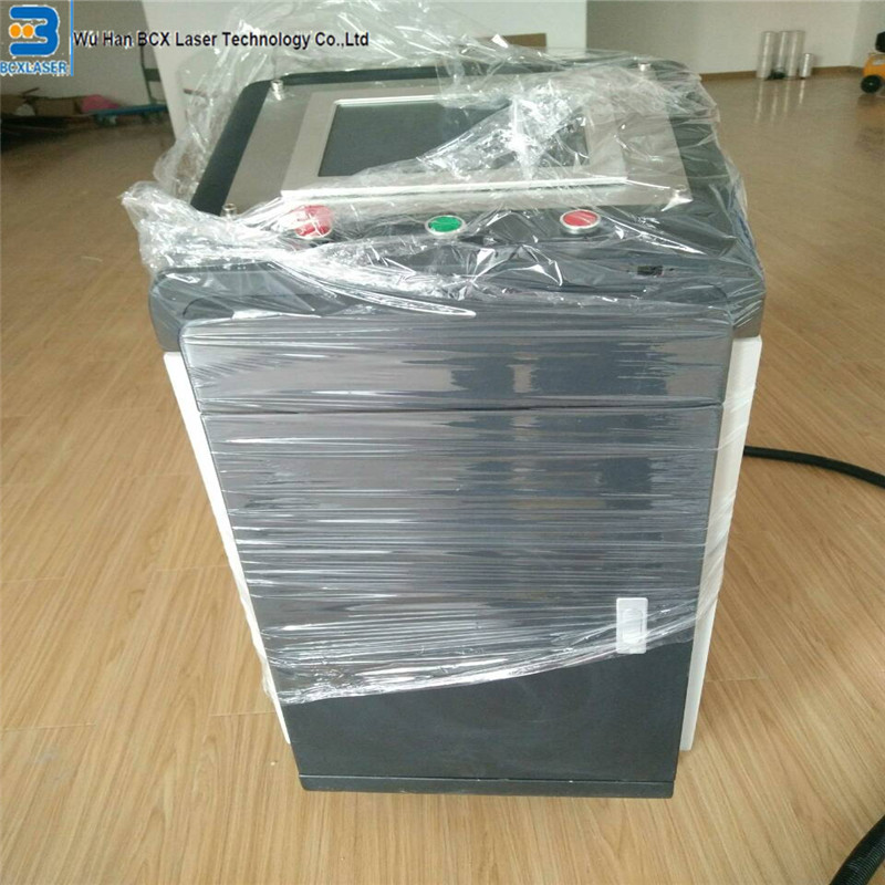 free shipping 50w 200w 500w fiber laser cleaning machine for paint removal/laser rust removal on hot sale