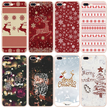 Etui na iphone 11 Pro Max 6 6S 7 8 Plus X XR 5 5S SE etui na iphone 7 Plus boże narodzenie nowy rok Deer etui z tpu na iphone XS Max tanie tanio Eouine Aneks Skrzynki coque funda fundas capa luxury accessories Mobile phone cases silicone Apple iphone ów Iphone 5