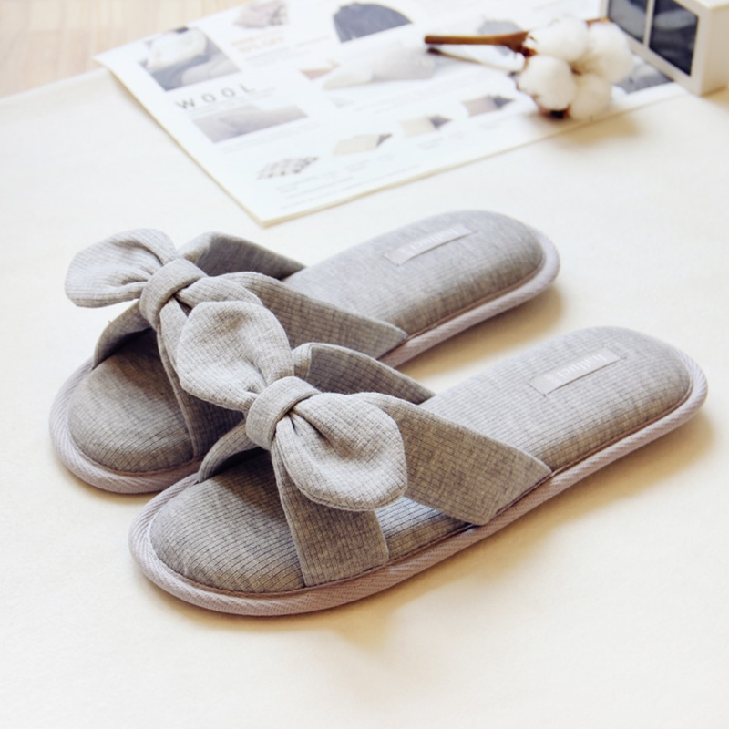Winter Sewed Lovely Pink Slippers Women Shoes Female Bow Cotton Spring House Home Indoor Casual Girls Pantuflas Pantofole Donna l oreal professionnel 4 tecni art wild stylers depolish 100