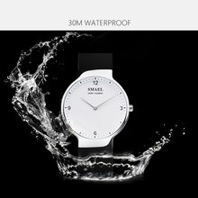 SMAEL Lover Couple Wristwatches Clock Women Digital Watch Men Waterproof Couple watch with Date 1835Gold Quartz Watches Silicone