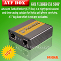 Free Shipping New Advance Turbo Flasher/Atf Box With Network Activation With Sl1,Sl2,Sl3 Network Activation For NokiaTOOL