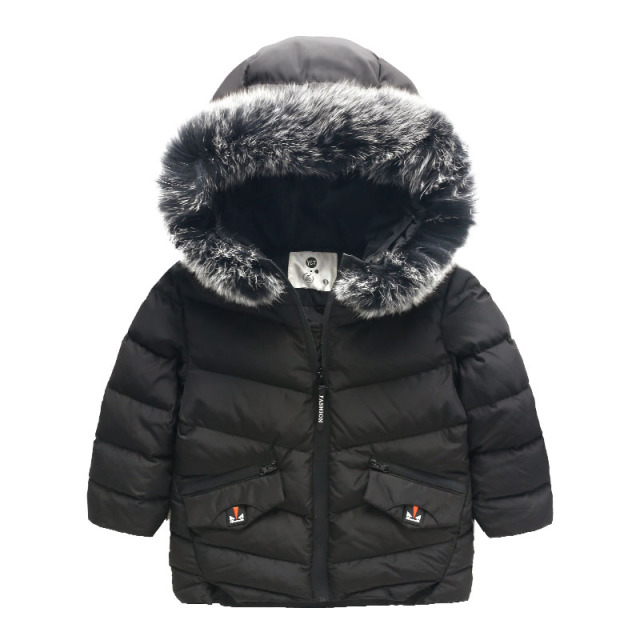 Children down jacket Boy coat baby thick outwear children clothes