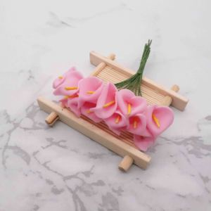 Image 4 - 144 шт., искусственные мини цветы из вспененного материала, букет лилий, искусственные цветы для украшения свадьбы, подарок на день Святого Валентина. Q