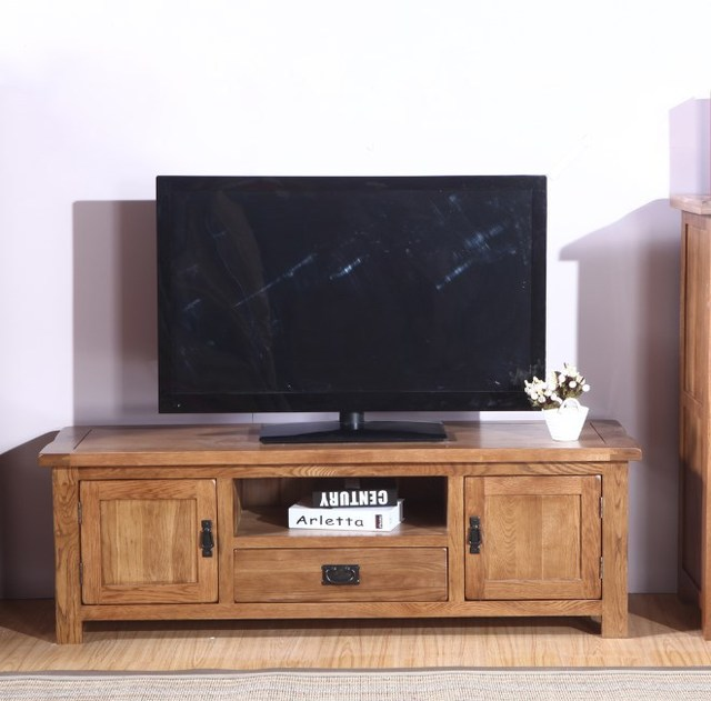 European Oak TV Cabinet TV Cabinet Living Room TV Cabinet IKEA Furniture  Push Pull 1.5