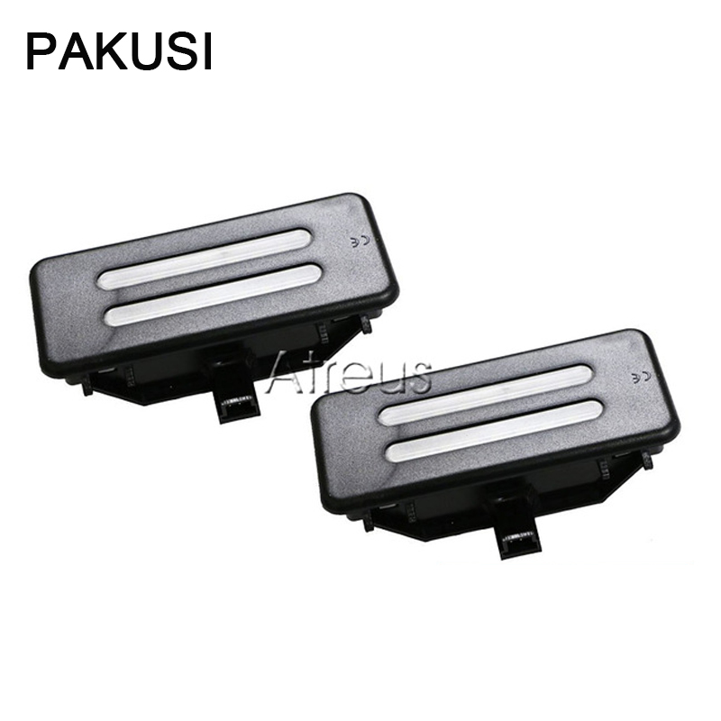 Pakusi Car Led Vanity Mirror Lights 12v White Dome Lamp For Bmw E60 E90 E60n E61 E61n E90n E91n