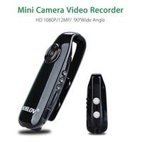 BOBLOV 1080 P Full HD Mini Kamera Dijital Video Kaydedici Dash Polis Vücut Bisiklet H.264 Kamera Geniş Açı