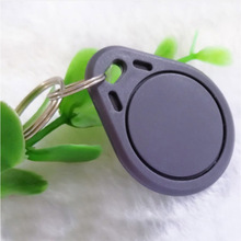 10pcs 13.56MHz IC M1 S50 Keyfobs Tags Access Control RFID Key Finder Card Token Attendance Management Keychain Not rewriteable high security 13 56mhz rfid bracelet rfid fabric woven wristbands compitable m1 s50 chip printed logo 1000pcs