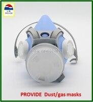 PROVIDE Anti virus dust mask Silica gel sky blue respirator gas mask respirator gas mask 2 use respirator face mask