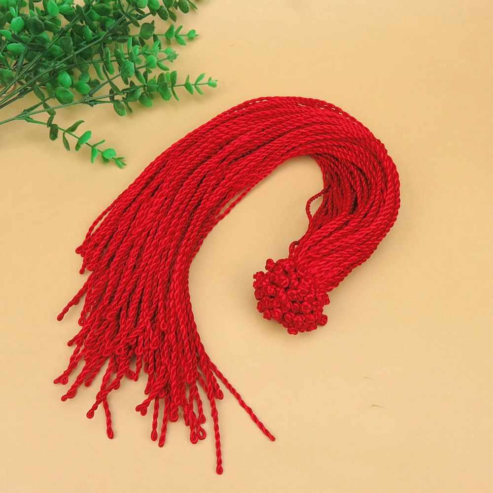 Оптовая продажа, 10 шт./лот, браслет с Красной веревкой, счастливые браслеты, ожерелье на лодыжку для женщин, шнур, линия шнура, сделай сам, ювелирное изделие ручной работы, подарок
