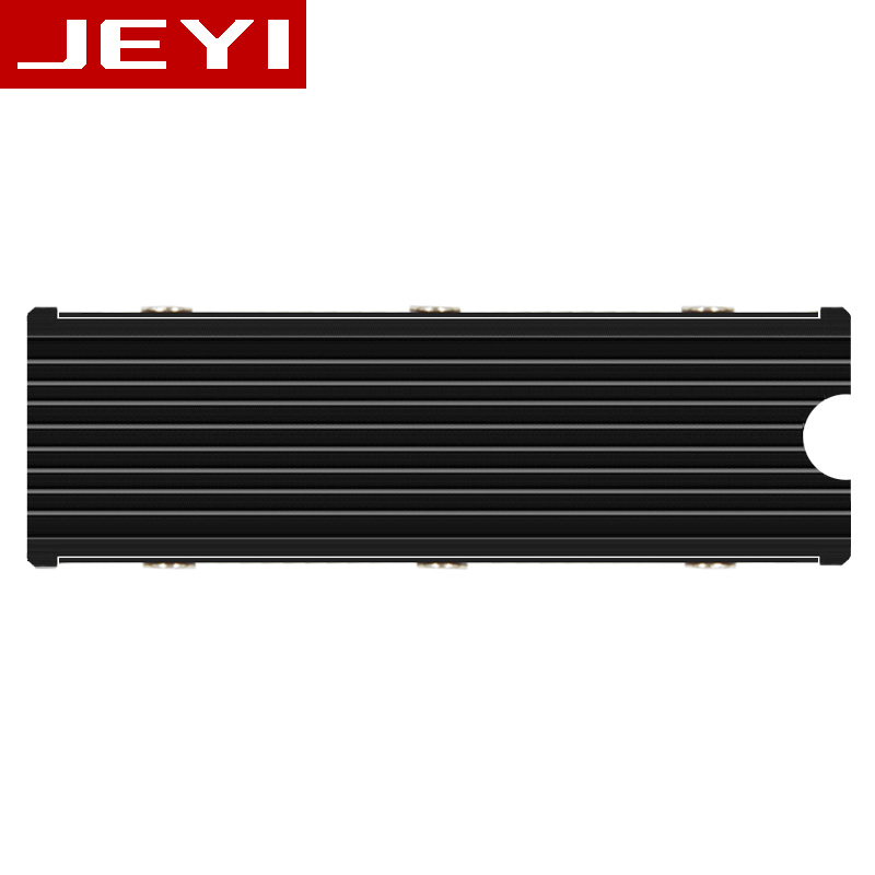 JEYI Cool Warship NVME NGFF M.2 Heatsink aluminum sheet Thermal conductivity silicon wafer Cooling Warship nvme heatsink 2280m.2