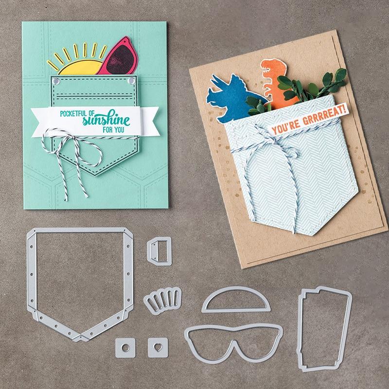 Juliarts Nieuwe Creatieve 8 Stks / partij Pocketful van Zonneschijn - Kunsten, ambachten en naaien