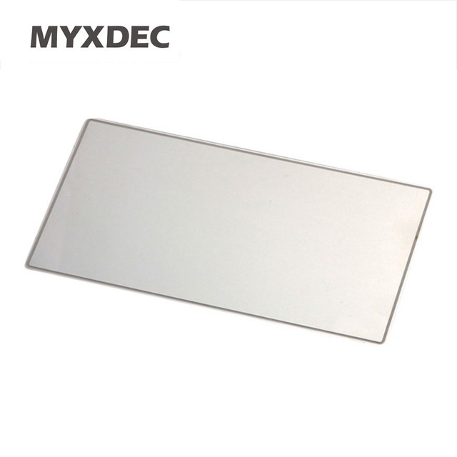 New Large Sun Visor Mirror Car Makeup Sun-shading Stainlesssteel Mirror Car Cosmetic Mirror Vanity Mirror Auto Supplies