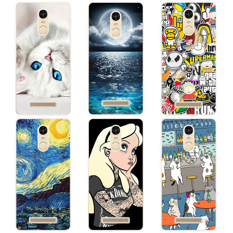 Cases For Xiaomi Redmi Note 3 Pro Special Edition Color Printing Drawing Phone Cases Cover For Redmi Note 3 Pro SE Prime 152mm
